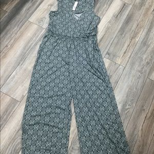 NWT!! New Directions Jumpsuit size XL